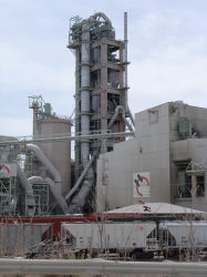 Photo of a Portland Cement Manufacturing Plant